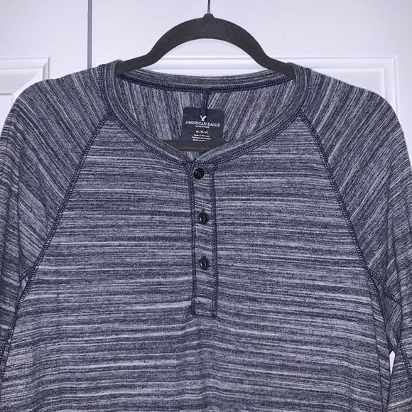 AMERICAN EAGLE Long-Sleeved Henley
